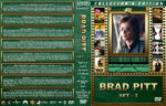 Brad Pitt Collection – Set 3 (1999-2007) R1 Custom Cover