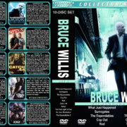 Bruce Willis Filmography – Set 5 (2008-2012) R1 Custom Cover