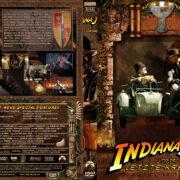 Indiana Jones und der letzte Kreuzzug (1989) R2 German Custom Cover & label