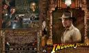 Indiana Jones und das Königreich des Kristallschädels (2008) R2 German Custom Cover & label