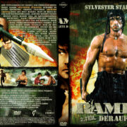 Rambo 2 - Der Auftrag (1985) R2 German Custom Cover
