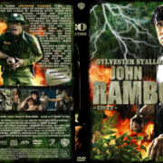 John Rambo (2008) R2 German Custom Cover