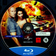 Death Race 2 (2010) R2 German Blu-Ray Label