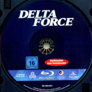 Delta Force (1986) R2 German Blu-Ray Label