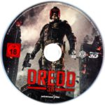 Dredd (2012) R2 German Blu-Ray Label