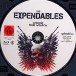 The Expendables (2010) R2 German Blu-Ray Label