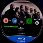 Fast & Furious 7 (2015) R2 German Blu-Ray Label