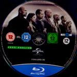 Fast & Furious 7 (2015) R2 German Blu-Ray Label