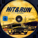 Hit and Run (2012) R2 German Blu-Ray Label
