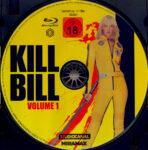 Kill Bill: Vol. 1 (2003) R2 German Blu-Ray Label