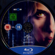 Lucy (2014) R2 German Blu-Ray Label