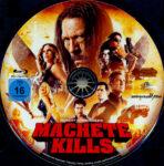 Machete Kills (2013) R2 German Blu-Ray Label