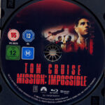 Mission: Impossible 1 (1996) R2 German Blu-Ray Label