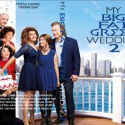 My Big Fat Greek Wedding 2 (2016) R0 CUSTOM Cover & label