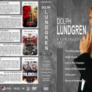 Dolph Lundgren: A Film Collection – Set 6 (2010-2013) R1 Custom Covers