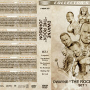 "Dwayne ""The Rock"" Johnson Collection – Set 1 (2001-2005) R1 Custom Covers"