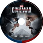 Captain America: Civil War (2016) R0 CUSTOM Labels