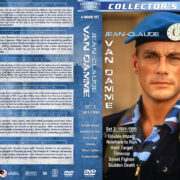 Jean-Claude Van Damme Collection – Set 2 (1991-1995) R1 Custom Covers