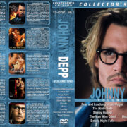 Johnny Depp Collection – Volume 2 (1998-2004) R1 Custom Cover