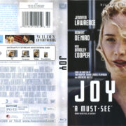 Joy (2016) R1 Blu-Ray Cover & label