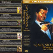 The Jack Nicholson Filmography - Set 1 (1958-1963) R1 Custom Cover