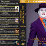 The Jack Nicholson Filmography - Set 6 (1983-1990) R1 Custom Cover