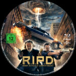 R.I.P.D. (2013) R2 German Custom Blu-Ray Label