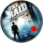 The Raid (2011) R2 German Blu-Ray Label