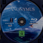 Anonymus (2011) R2 German Blu-Ray Label