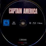 Captain America (1990) R2 German Blu-Ray Label