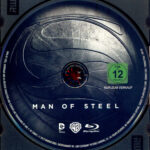 Man of Steel (2013) R2 German Blu-Ray Label