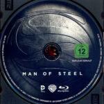 Man of Steel (2013) R2 German Blu-Ray Label