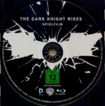 The Dark Knight Rises (2012) R2 German Blu-Ray Labels
