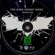 The Dark Knight Rises (2012) R2 German Blu-Ray Labels