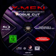 X-Men: Zukunft ist Vergangenheit (2014) R2 German Blu-Ray Labels