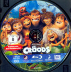 Die Croods (2013) R2 German Blu-Ray Label
