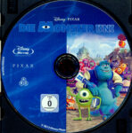 Die Monster Uni (2013) R2 German Blu-Ray Labels