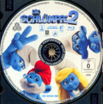 Die Schlümpfe 2 (2013) R2 German Blu-Ray Label