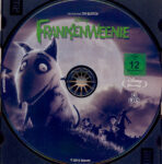 Frankenweenie (2012) R2 German Blu-Ray Label