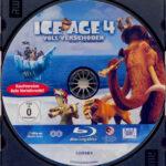 Ice Age 4 – Voll verschoben (2012) R2 German Blu-Ray Label