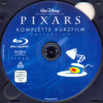 Pixars komplette Kurzfilm Collection 1 (2007) R2 German Blu-Ray Label