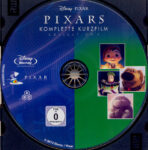 Pixars komplette Kurzfilm Collection 2 (2012) R2 German Blu-Ray Label