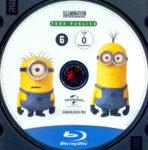Ich – Einfach unverbesserlich 2 (2013) R2 German Blu-Ray Label