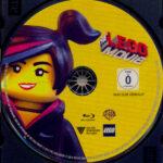 The Lego Movie (2014) R2 German Blu-Ray Label