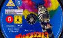 Madagascar 3: Flucht durch Europa (2012) R2 German Blu-Ray Labels