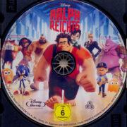 Ralph reicht's (2012) R2 German Blu-Ray Label