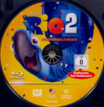 Rio 2 – Dschungelfieber (2014) R2 German Blu-Ray Label
