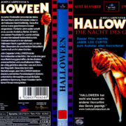 Halloween – Die Nacht des Grauens (1978) R2 German Cover
