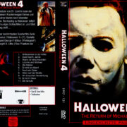 Halloween 4 - Michael Myers kehrt zurück (1988) R2 German Cover