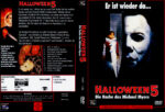Halloween V – Die Rache des Michael Myers (1989) R2 German Cover